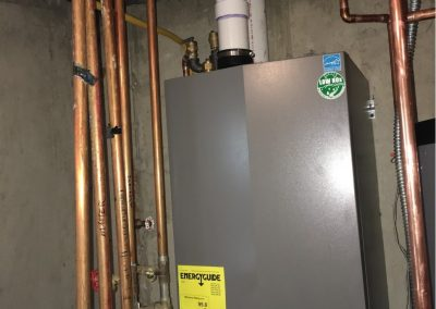 Boiler and water heater retrofit and system optimization